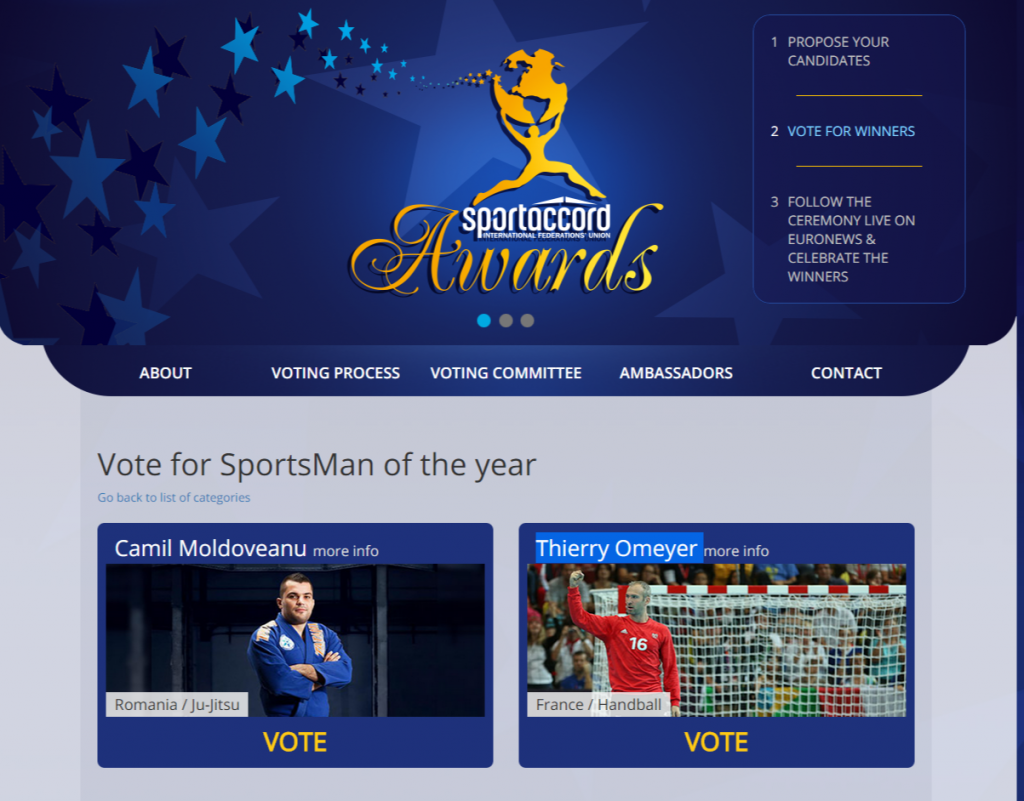 SportAccord Awards Nominees