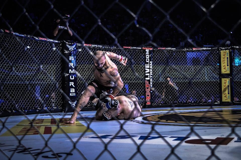 Victorie spectaculoasa pentru Cristian Mitrea prin KO in gala MMA - Rxf 24
