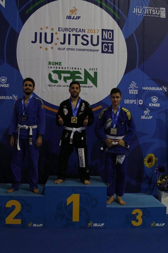 Bogdan Ungureanu, locul 2 la Open-ul Romei de No Gi.