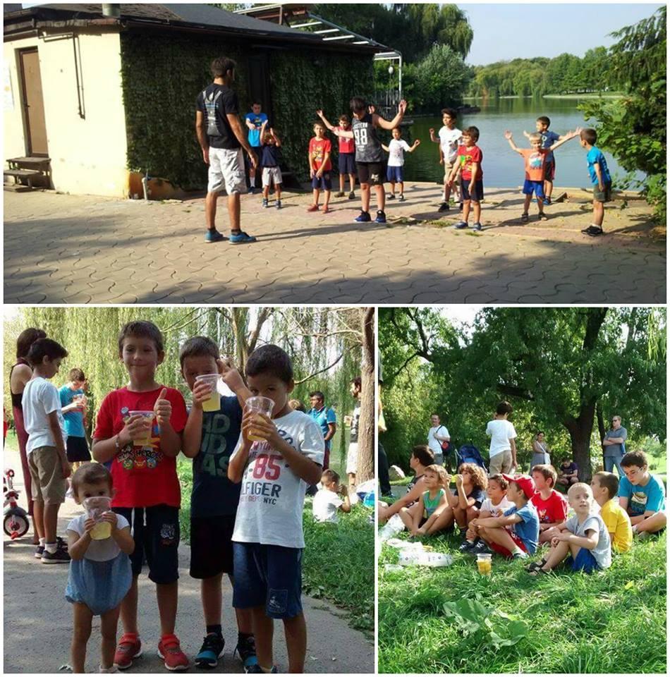 Academia de Campioni Absoluto la jogging in Parcul Tineretului