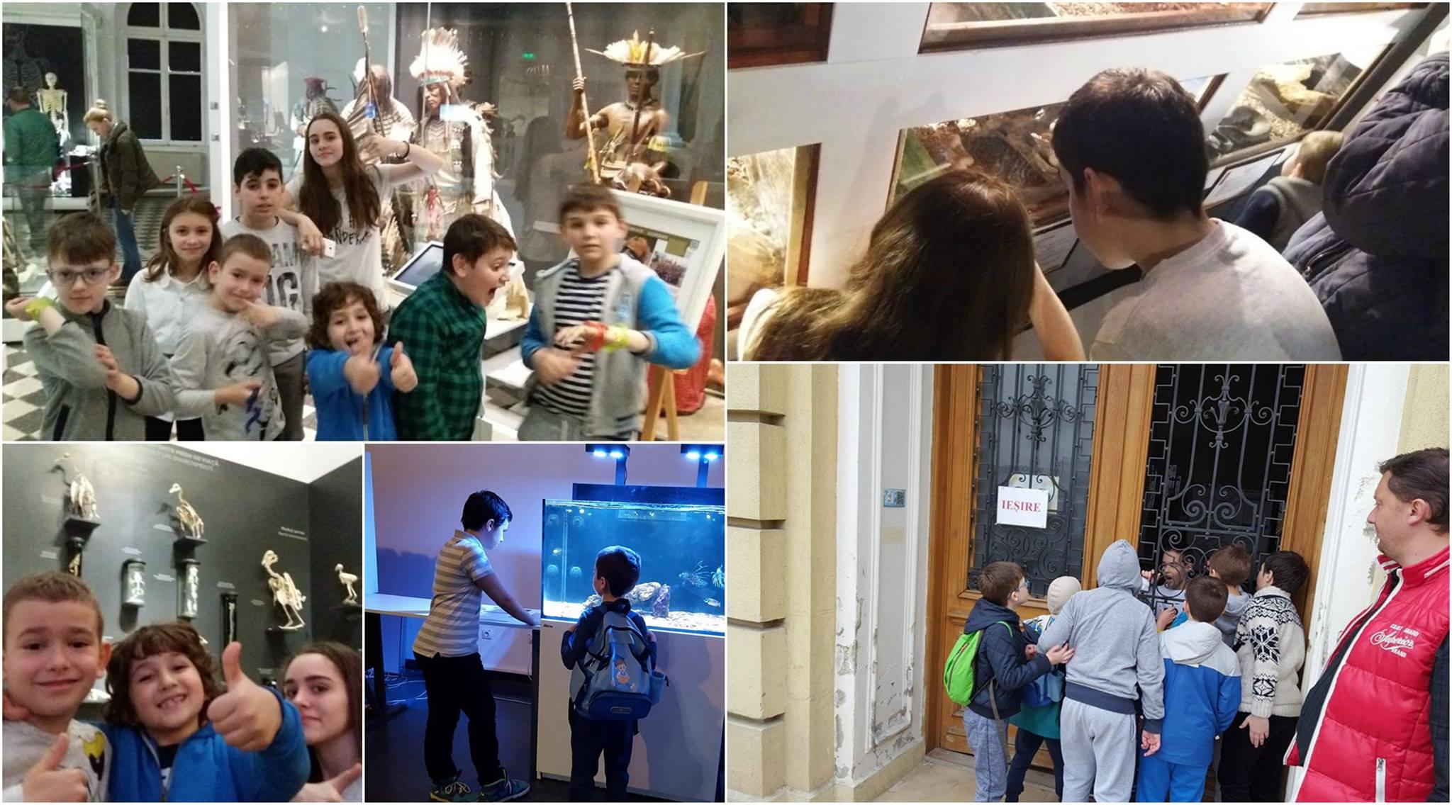 Academia de Campioni Absoluto in vizita la muzeu :)