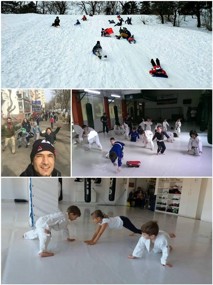 Distractia face si ea parte din programul Academiei de Campioni Absoluto :)