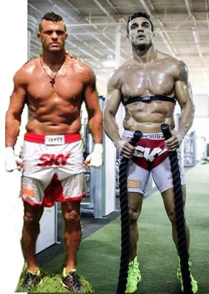 Odata ce Vitor nu a mai folosit terapia de inlocuire a testosteronului, forma sa fizica s-a degradat considerabil.
