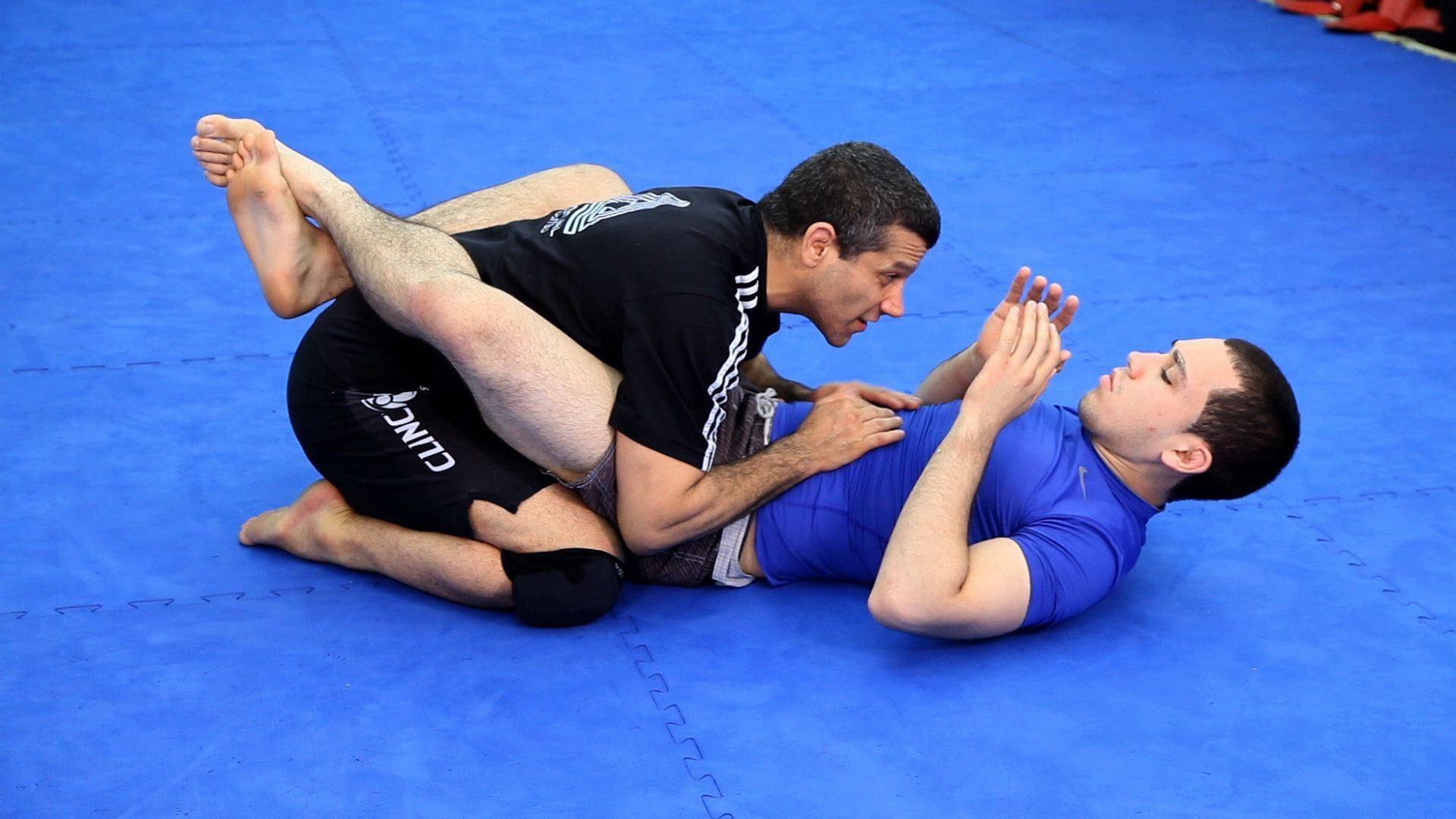 Garda, un concept specific Jiiu Jitsului Brazilian.