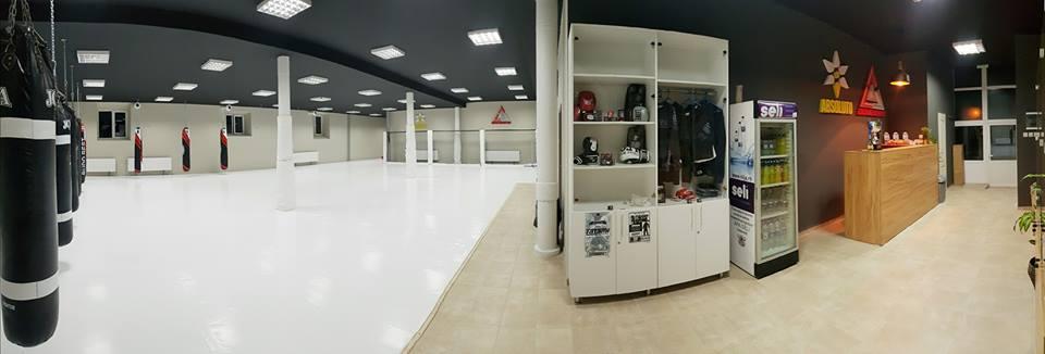 Cea mai moderna sala de arte martiale din Romania