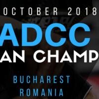 ADCC European Championship 2018 va avea loc pe 6 octombrie, la Bucuresti!