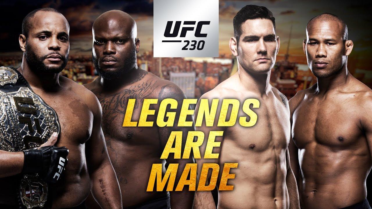 AVANCRONICA UFC 230: Ne pregatim pentru Daniel Cormier vs Derrick Lewis