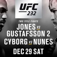 UFC 232 se anunta a fi una dintre cele mai bune gale din 2018. Vezi lista completa de luptatori!