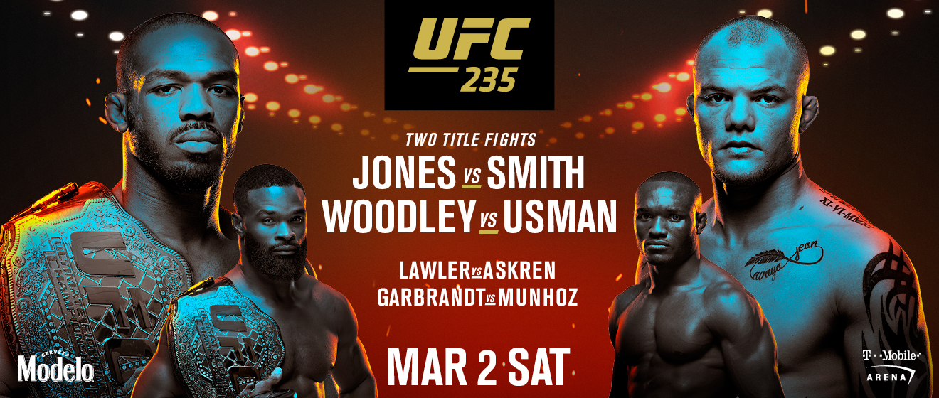 UFC 235 - AVANCRONICA VIDEO: Jon Jones vs Anthony Smith si Tyron Woodley vs Kamaru Usman