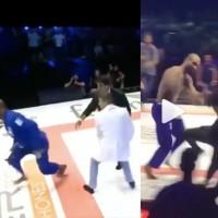 Luptatorul Erberth Santos a provocat un meleu in public dupa ce a pierdut un meci de BJJ (VIDEO)