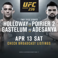 AVANCRONICA UFC 235: Max Holloway vs Dustin Poirier si Kelvin Gastelum vs Israel Adesanya (VIDEO)