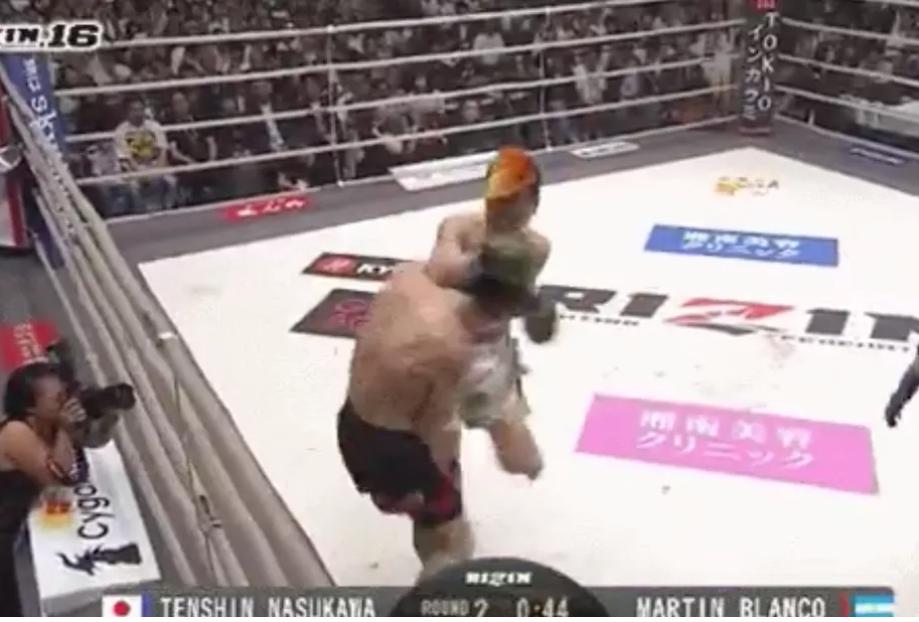 VIDEO. Rezultate RIZIN 16: Tenshin Nasukawa revine cu un nou KO, iar un alt luptator isi distruge adversarul cu un sut in cap!