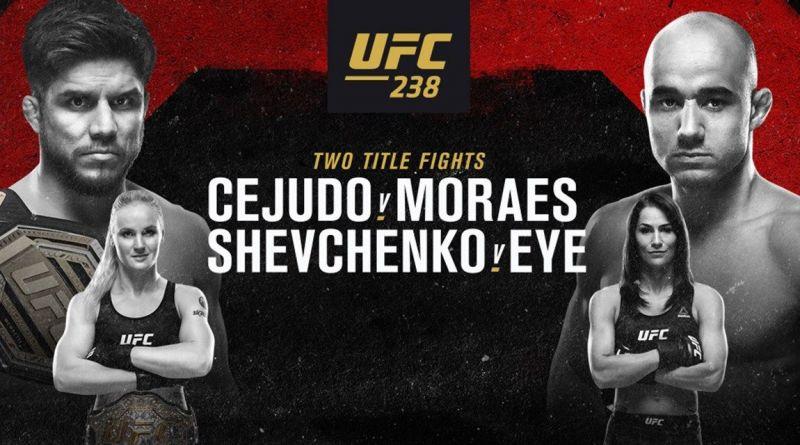 Avancronica UFC 238: Cejudo vs Moraes, Shevchenko vs Eye, Ferguson vs Cowboy (VIDEO)