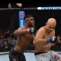 VIDEO. Vezi loviturile brutale cu care Francis Ngannou l-a trimis pe Junior dos Santos la pamant!