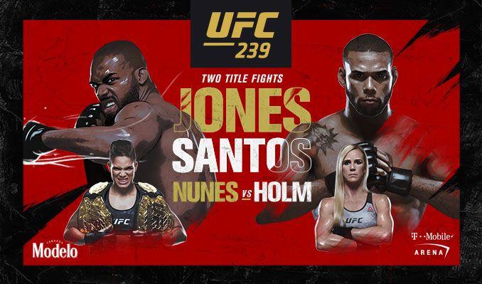 AVANCRONICA UFC 239: Jon Jones isi pune centura de campion in joc impotriva lui Thiago Santos (VIDEO)