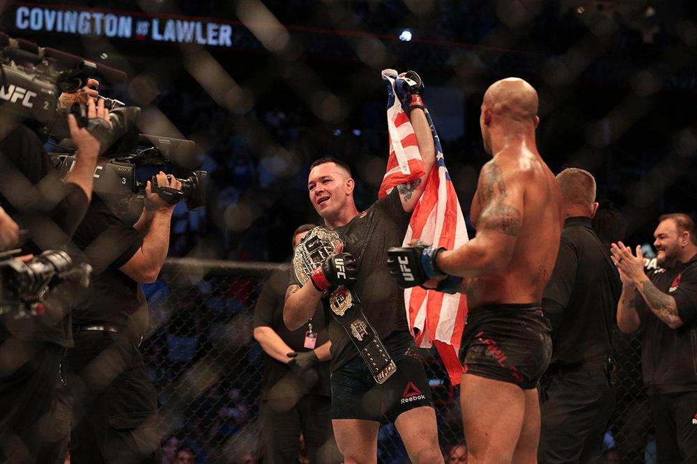 MMA: UFC Newark- Covington vs Lawler
