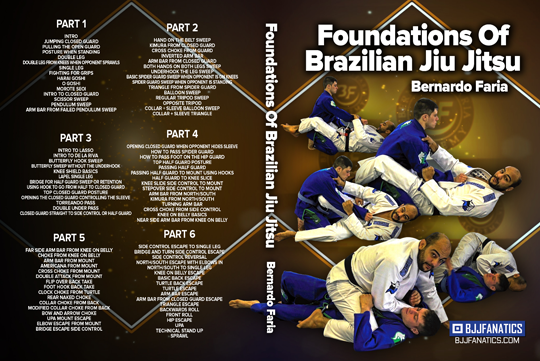 Video-instructional despre bazele BJJ-ului, realizat de multiplu Campion Mondial, Bernardo Faria
