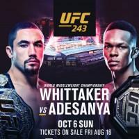 VIDEO. Avancronica UFC 243: Robert Whittaker vs Israel Adesanya. Cine va pleca cu centura?