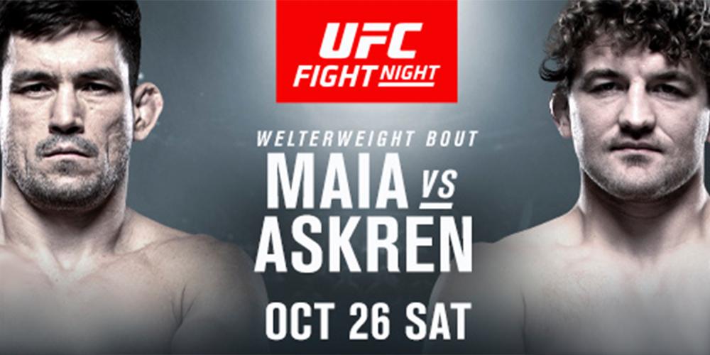 VIDEO. Urmeaza UFC Fight Night Singapore: Demian Maia vs Ben Askren