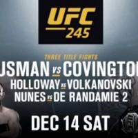 AVANCRONICA UFC 245: Urmeaza ultima mare gala UFC din 2019! 3 lupte vor avea centura pe masa! (VIDEO)
