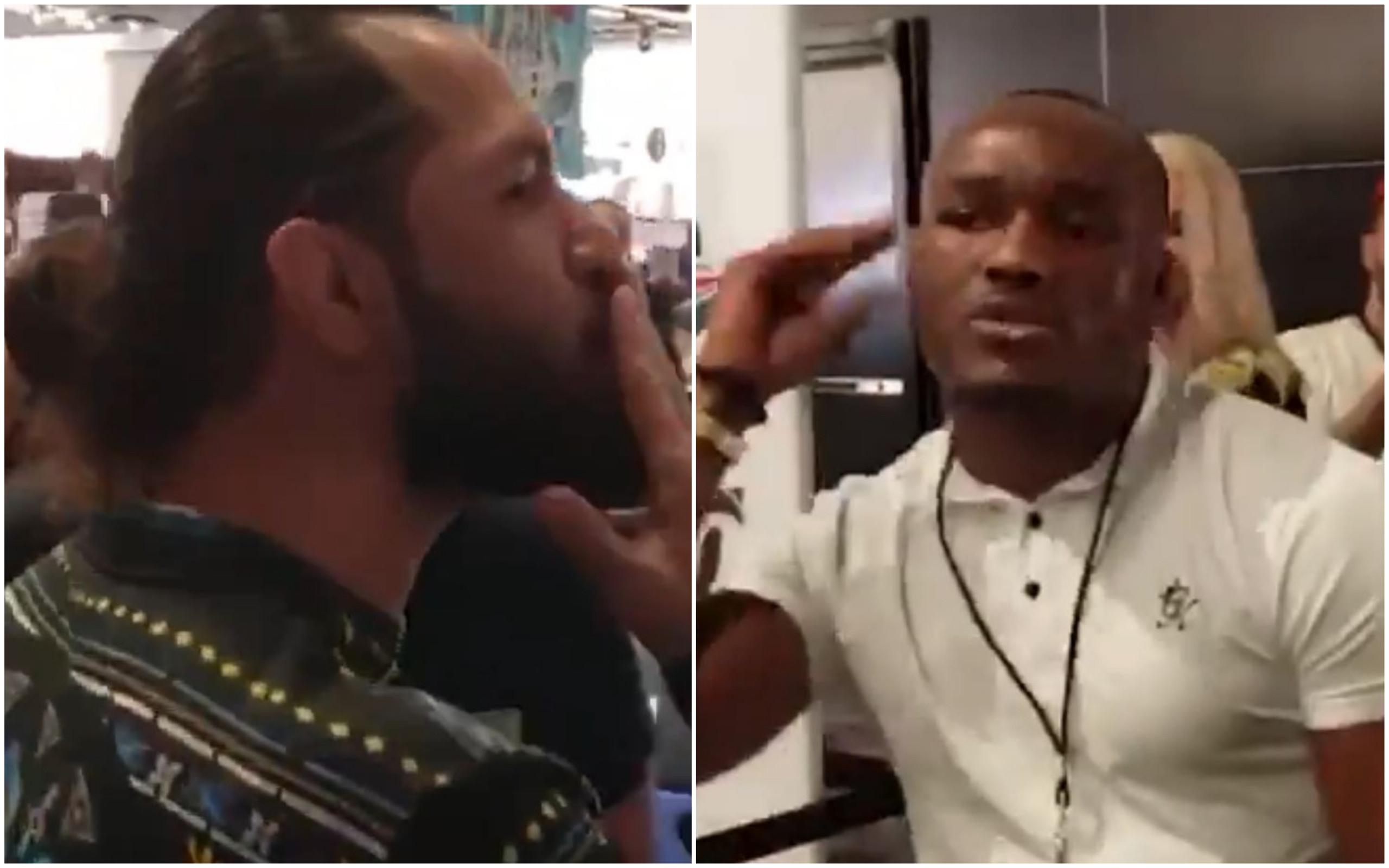 (VIDEO) Vezi confruntarea dintre Kamaru Usman si Jorge Masvidal! Urmeaza lupta?