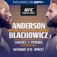 Urmeaza UFC Fight Night 167: Corey Anderson vs. Jan Błachowicz 2!