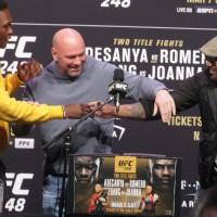 (VIDEO) Urmeaza UFC 248: Israel Adesanya vs Yoel Romero pentru centura de campion la Middleweight!