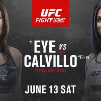 UFC continua in weekend cu gala Jessica Eye vs Cynthia Calvillo