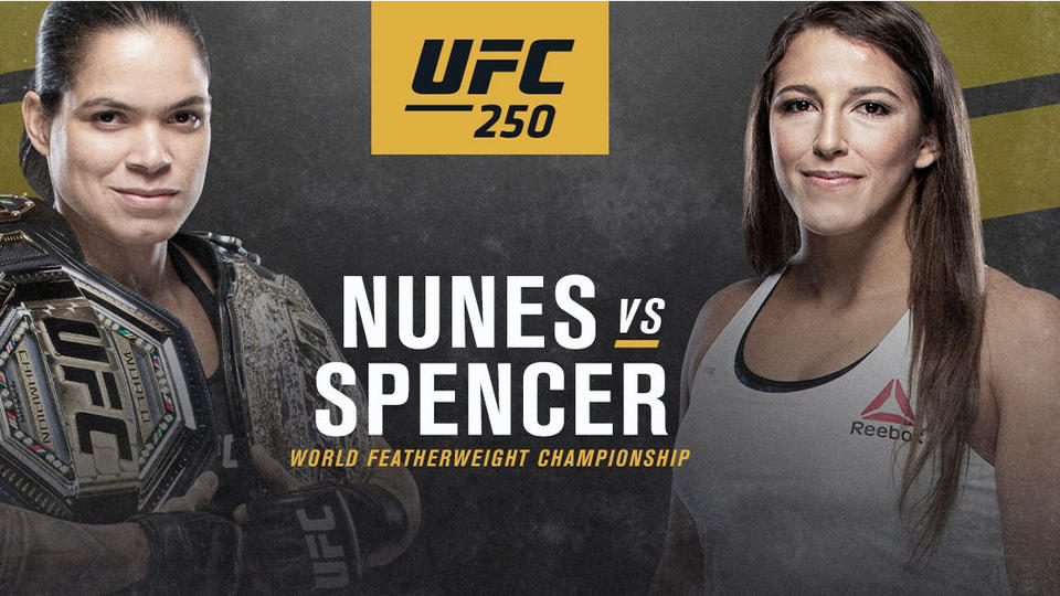 UFC 250: Amanda Nunes vs Felicia Spencer. Vezi tot cardul aici! (VIDEO)