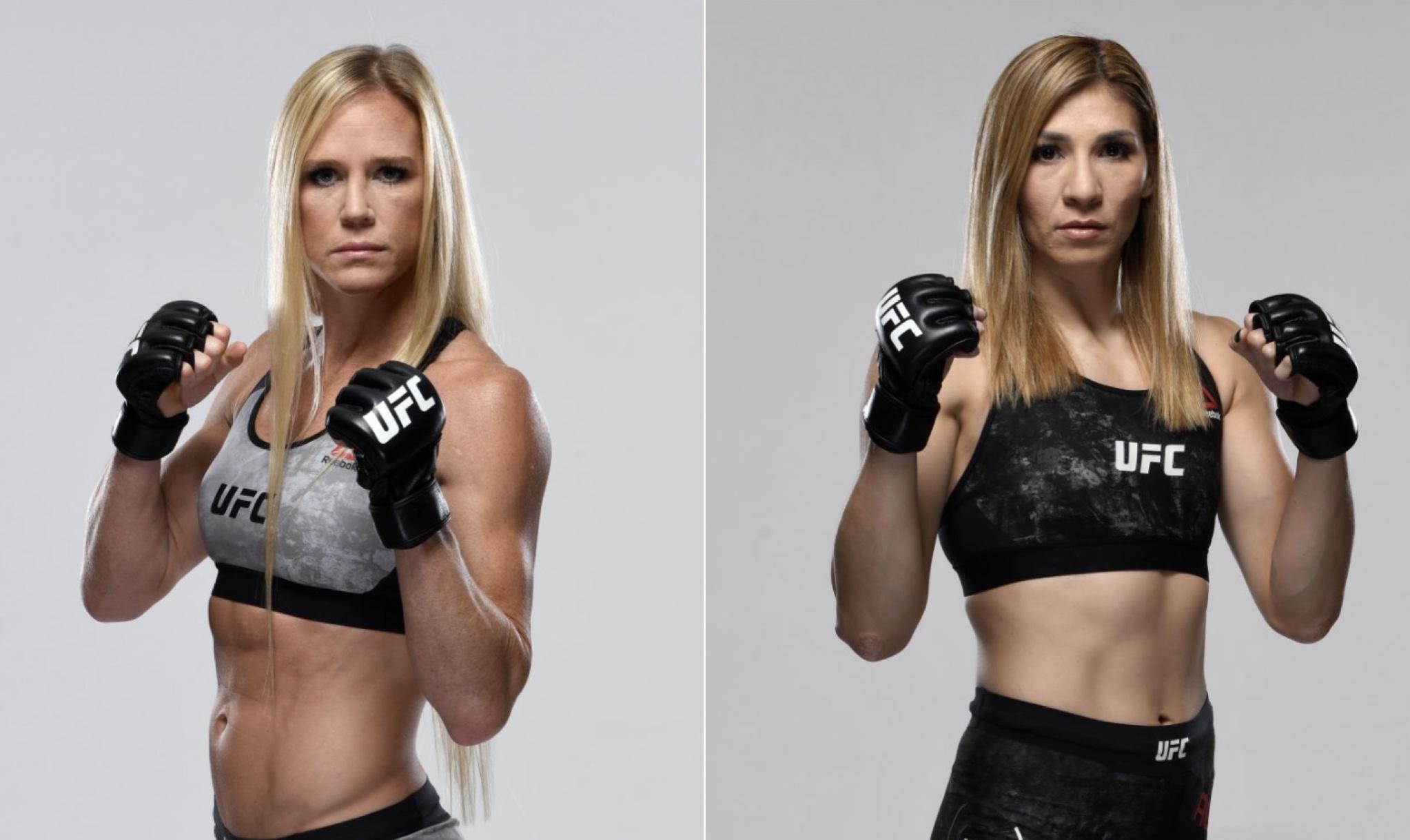 Urmeaza UFC on ESPN 16: Holly Holm vs Irene Aldana, in Abu Dhabi