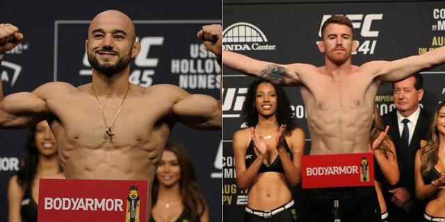 Urmeaza UFC Fight Night: Marlon Moraes vs Cory Sandhagen! Vezi ce stiu sa face cei doi luptatori (VIDEO)