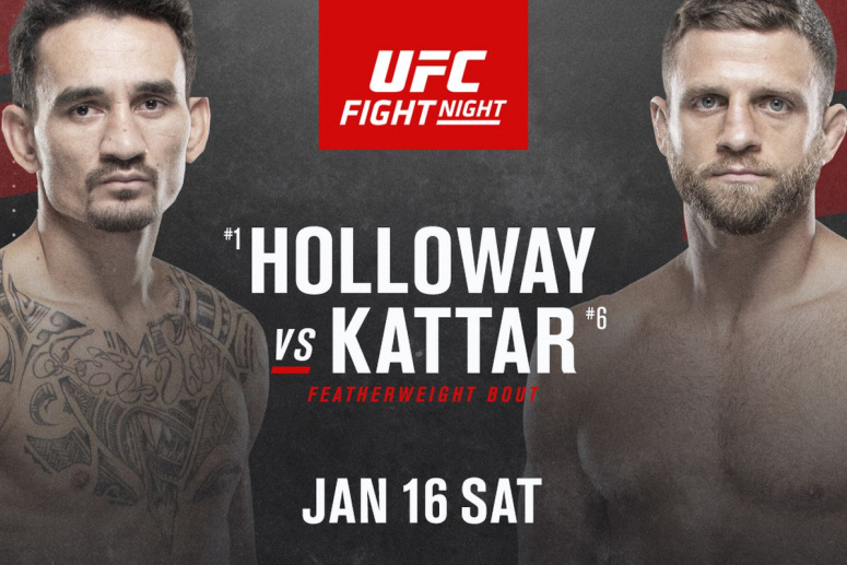 Prima gala din 2021 - UFC Fight Island 7: Max Holloway vs Calvin Kattar