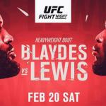 Urmeaza UFC Fight Night 185: Curtis Blaydes vs Derrick Lewis