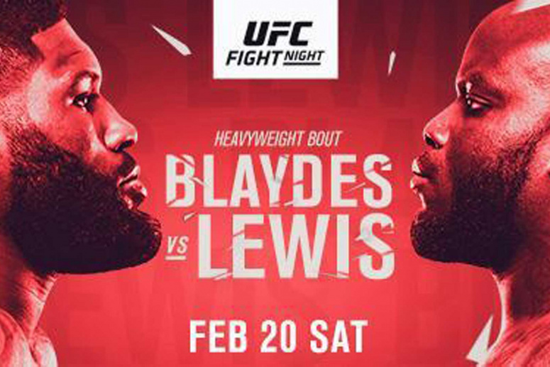 Urmeaza UFC Fight Night 185: Curtis Blaydes vs Derrick Lewis