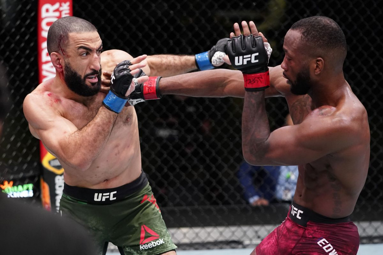 UFC Vegas 21: Leon Edwards vs Belal Muhammad a fost oprit de doctori! (VIDEO)
