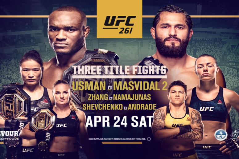 Urmeaza UFC 261: Kamaru Usman vs Jorge Masvidal 2 (VIDEO)