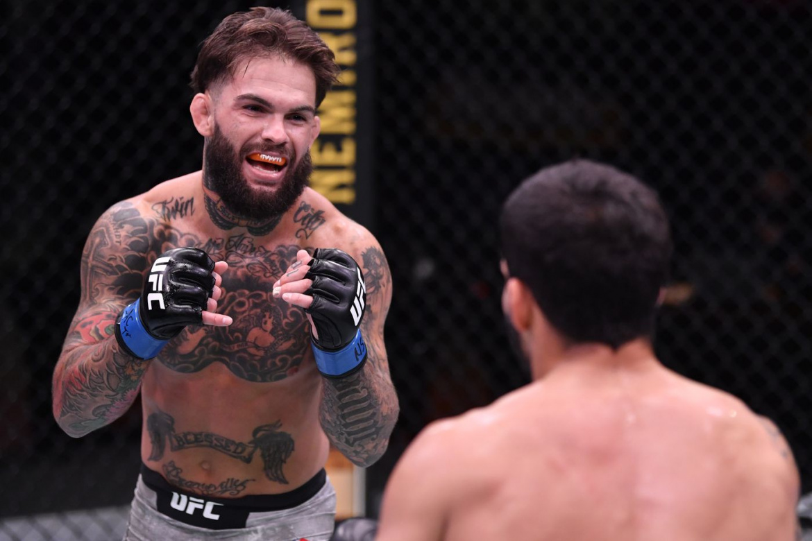 Cody Garbrandt revine in octogon impotriva lui Rob Font, in acest weekend!