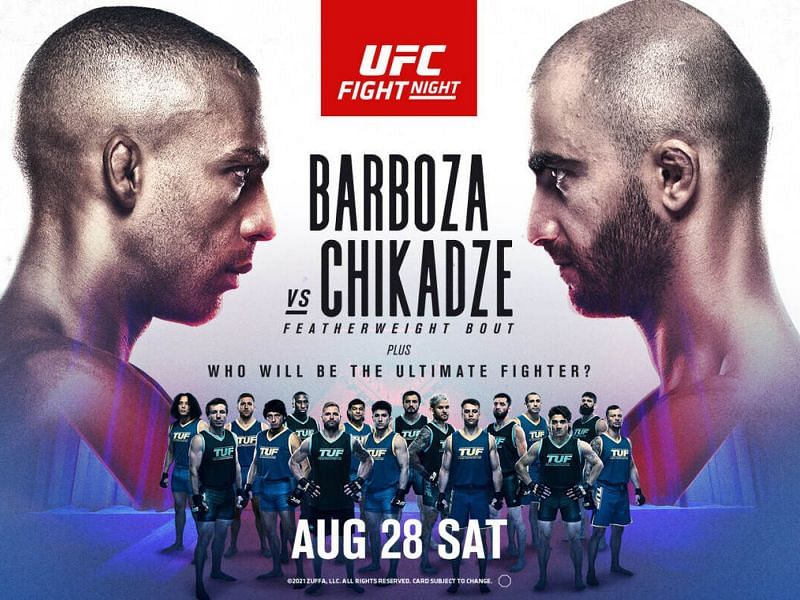 Urmeaza gala UFC on ESPN 30: Edson Barboza vs Giga Chikadze (VIDEO)
