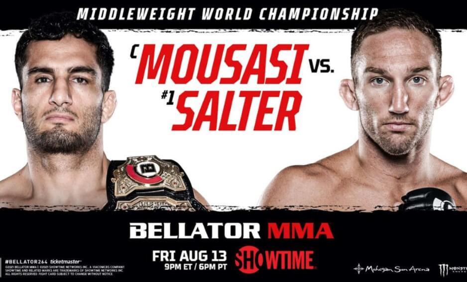 Urmeaza Bellator 264: Gegard Mousasi si John Salter se vor lupta pentru centura de campion la categoria mijlocie!