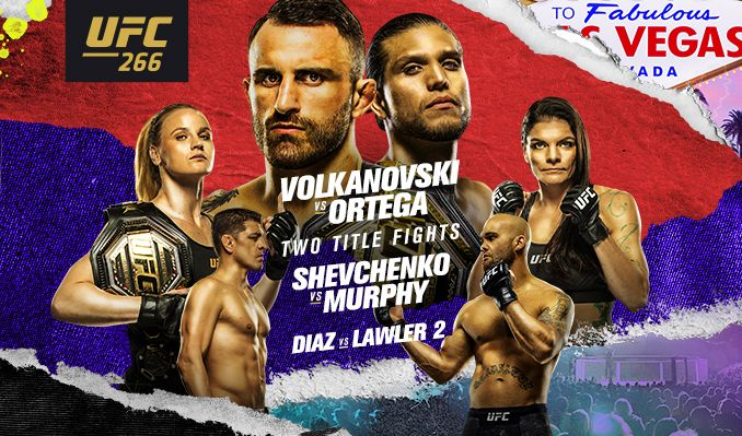 Urmeaza gala UFC 266: Alexander Volkanovski vs. Brian Ortega / Valentina Shevchenko vs. Lauren Murphy (VIDEO)